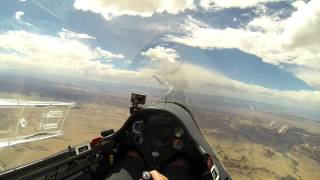 Glider Flies 750km Task Over Crazy Scary Utah Colorado Moonscape