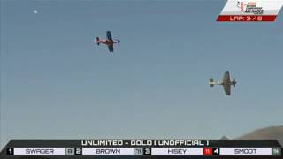 Unlimited Race (Gold) 9-16-2018 - Reno Air Races 2018 - The BIG SHOW!