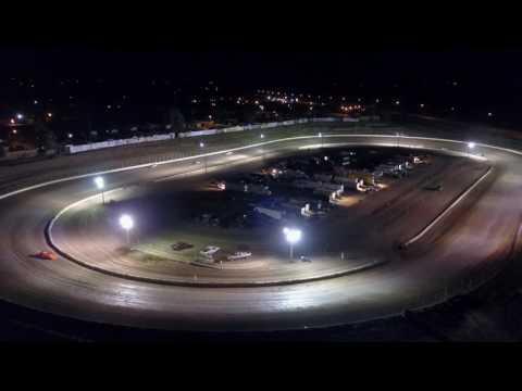 6/16/2017 Black Hills Speedway Main event drone footage