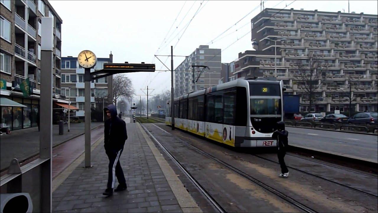 trams streetcars stra enbahn electric bus rotterdam