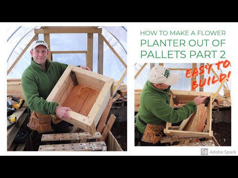 how-to-make-a-flower-planter-out-of-pallets---part-2