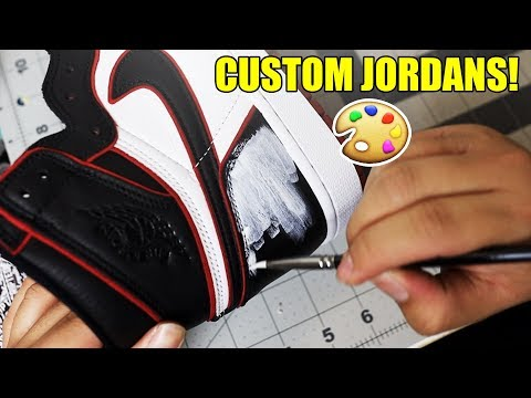 AIR JORDAN 'CHICAGO' 1 CUSTOM! 👟🎨