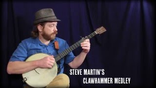 Steve Martin's Clawhammer Banjo Medley