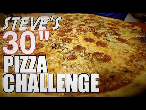 "Download STEVE'S 30"" PIZZA CHALLENGE!!"