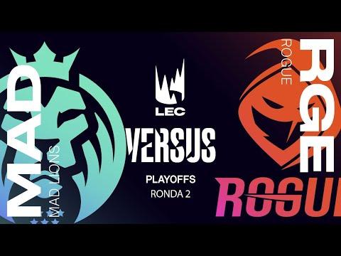 ROGUE VS MAD LIONS| LEC Summer split 2021 | PLAYOFFS MAPA 3 League of Legends