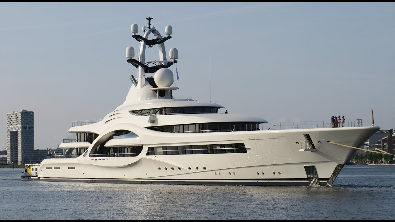 Today's video of the 110m/ 361ft Feadship Anna