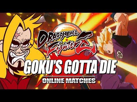 GOKU'S GOTTA DIE & RANK SSJ3: Dragon Ball FighterZ - Online Ranked Matches