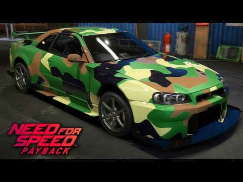 Need For Speed Payback - How to make Military Camouflage Designs (Tutorial)