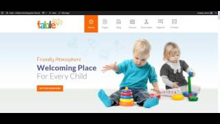 Fable - Children Kindergarten WordPress Theme: Setup Page Not Found 404 Page