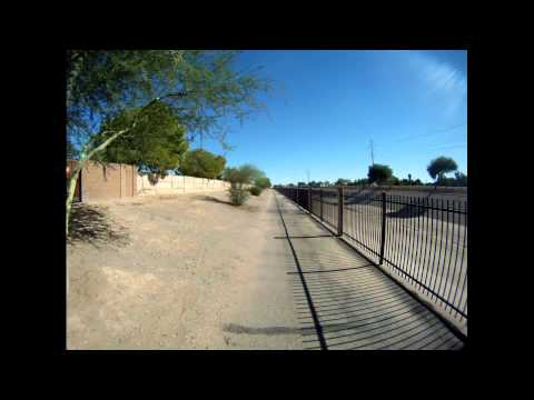 Skunk Creek Bicycle Trail to  Arizona Canal  Trail