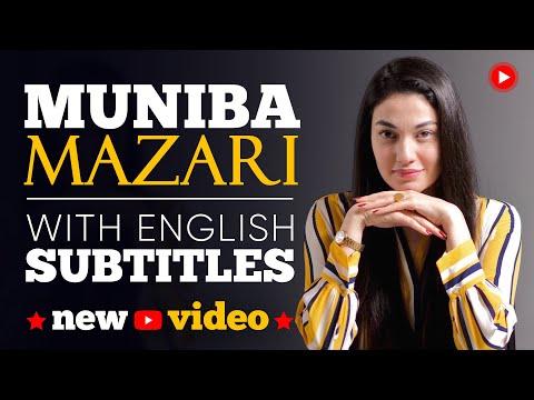 ENGLISH SPEECH | MUNIBA MAZARI: Motivational Words (English Subtitles)