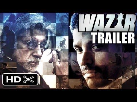 Wazir Full Movie Trailer 2015 | Amitabh Bachchan, Farhan Akhtar, John Abraham | Launch