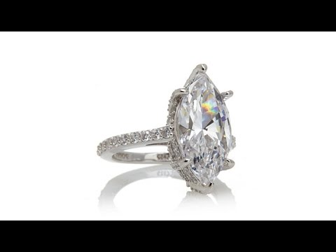 Jean Dousset 6.46ct Absolute Marquise Ring