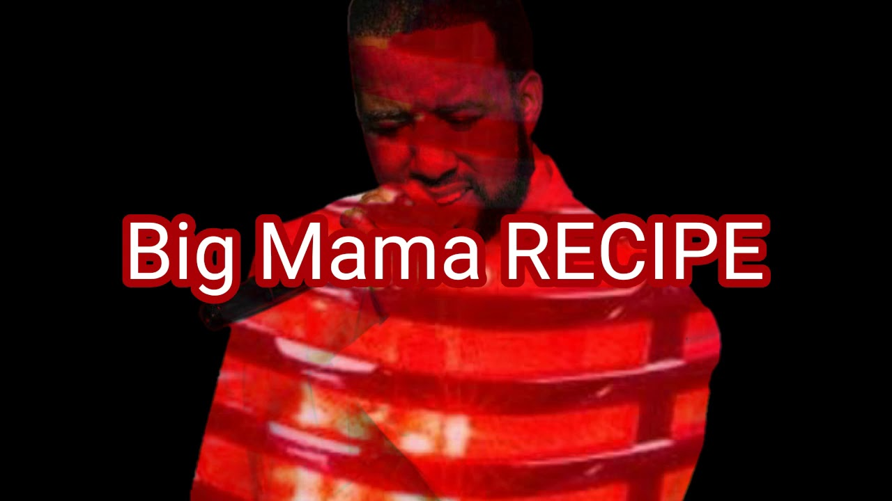 BIG MAMA RECIPE POEM BY AQUIL ALI