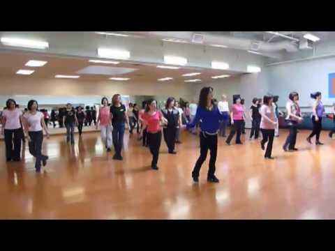 Cha Cha -Line Dance (Walk Through & Dance)