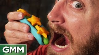 Making Real Food W/ Play-doh Toys