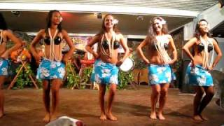 Pacific Islands dance group, Rarotonga