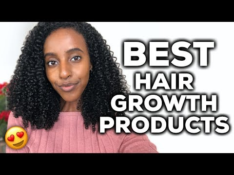 THE BEST NATURAL HAIR GROWTH PRODUCTS (My Favorites!) | | CURLSMAS DAY 11 | Lydia Tefera
