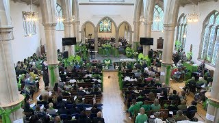 Grenfell Tower fire memorial service remembers victims one year on | ITV News