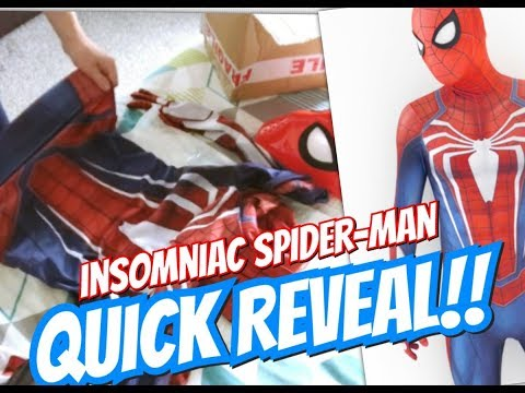 Insomiac Spider-Man Cosplay - Quick Reveal
