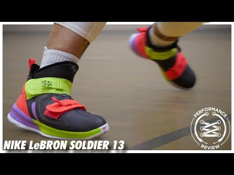 quality design 06f44 c78fb Nike LeBron Soldier 13 Performance Review - YouTube