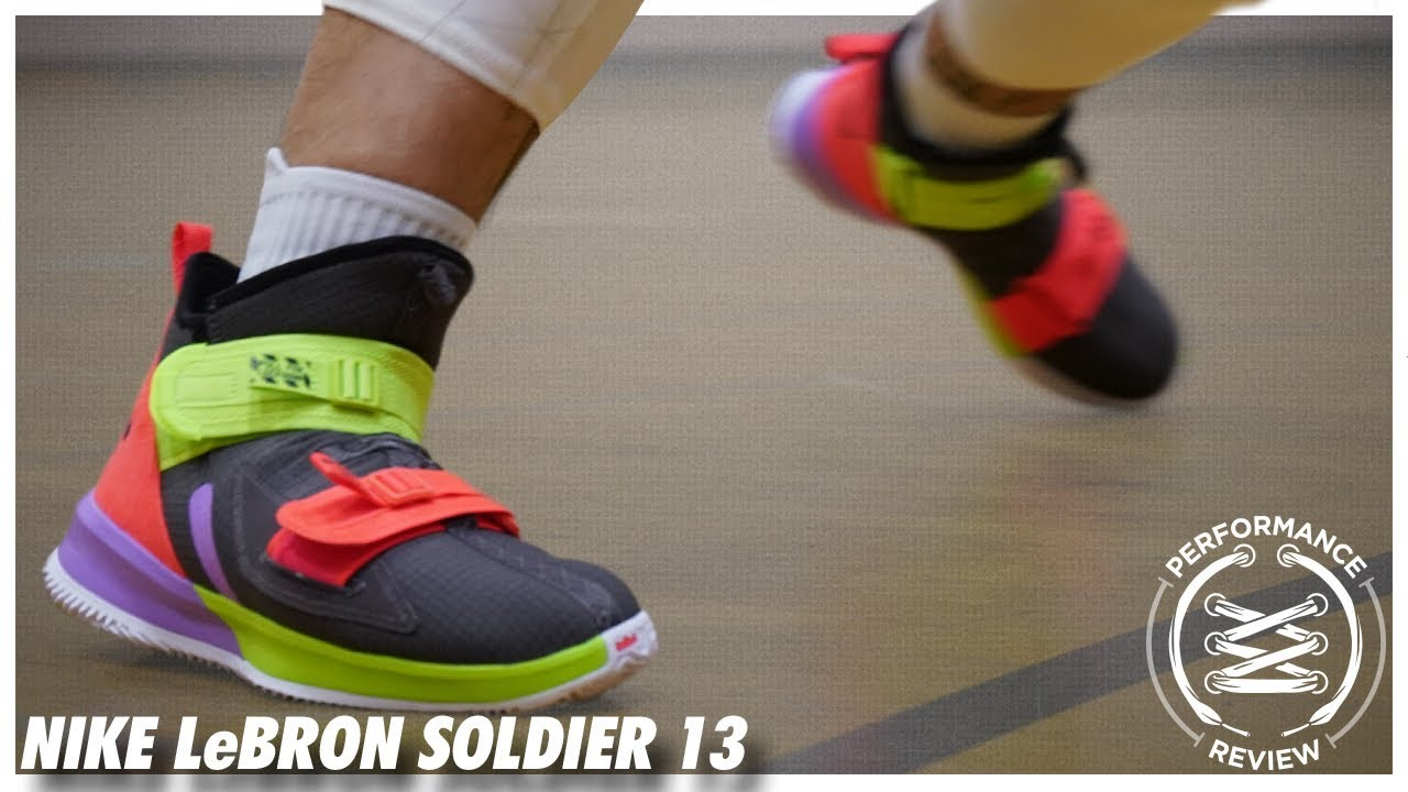 super popular 1dff4 bfcd7 Nike LeBron Soldier 13 Performance Review