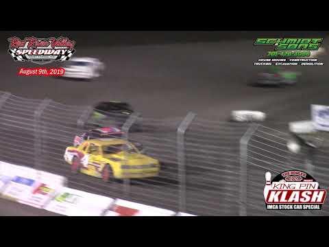 Red River Valley Speedway IMCA Stock Car A-Main (King Pin Klash) (8/9/19)
