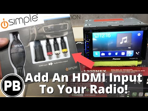 How To Add A HDMI Input To Your Car Radio!