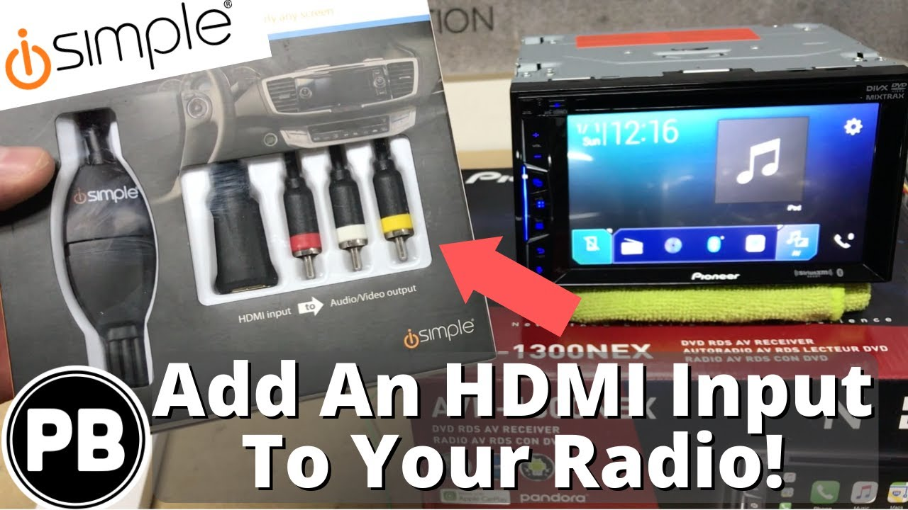 how to add hdmi input to laptop