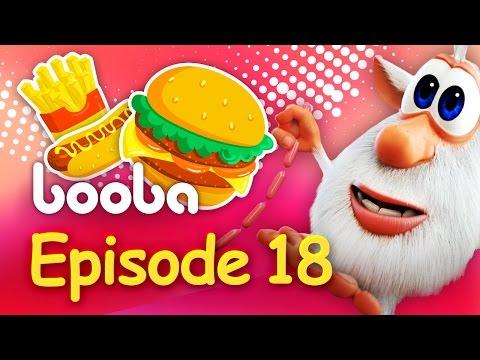 Booba - Episode 18 - Funny cartoon for kids 2017 - Буба Burger - KEDOO Animations 4 kids thumbnail