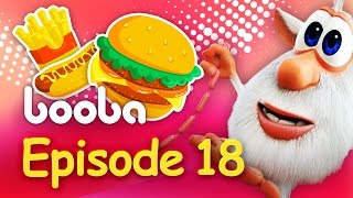 Booba - Episode 18 - Funny cartoon for kids 2017 - Буба Burger - KEDOO Animations 4 kids
