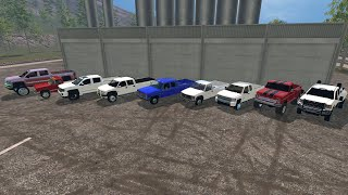 Farming Simulator 2015 Mods- A Lot of Trucks (Chevy/GMC Only)