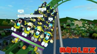 Extreme Roller Coasters in Roblox! / Universal Studios in Roblox / Gamer Chad
