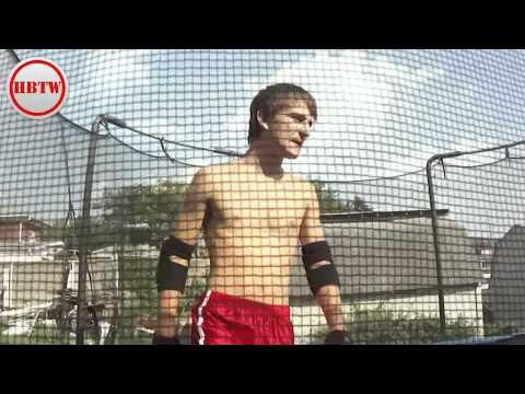 Trampoline Wrestling; Match 1 Of Season 5 (HBTW)