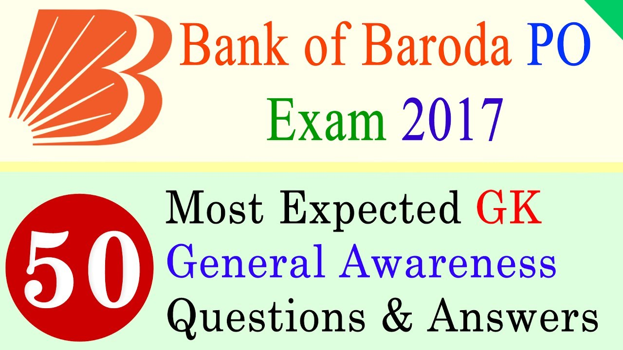 bank of baroda po result 2017