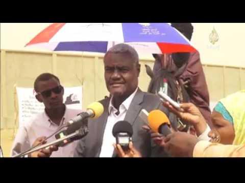 Tchad - Mali Président Commission de l'Union africaine Mohamed Moussa Faki a visité Gao