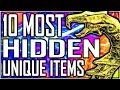SKYRIM - 10 Most HIDDEN Unique Items