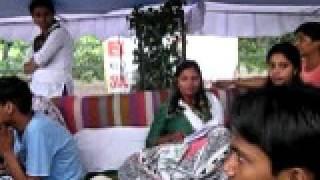 asha sharma with seema sharma protest agist sector-15 rohini school st angels