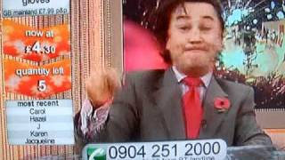 presenter goes mental on bid tv funny Thumbnail