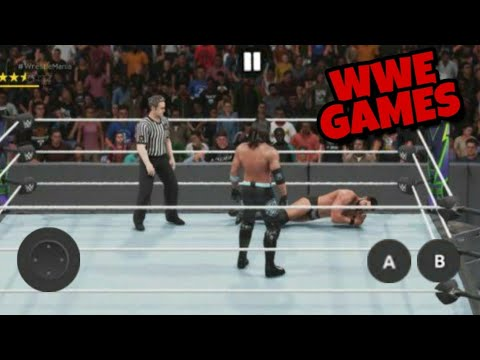 Top 5 Best WWE Games For Android | {Wrestling Games}