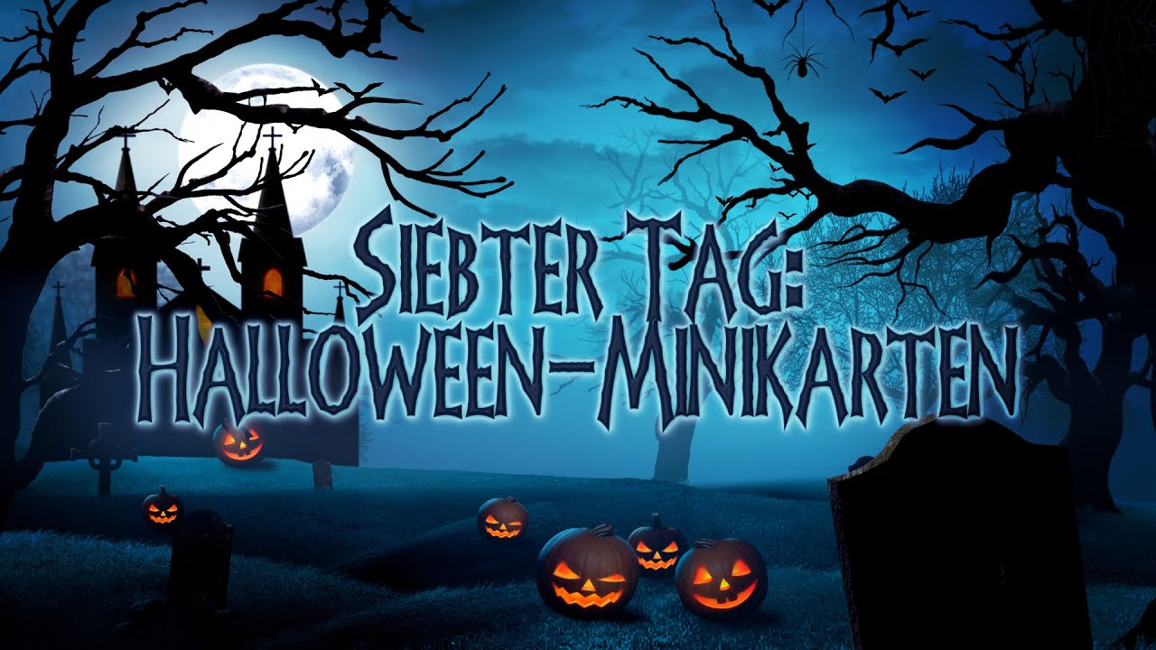 8 Tage Halloween - Tag7 - Halloween-Minikarten mit Stampin' Up!