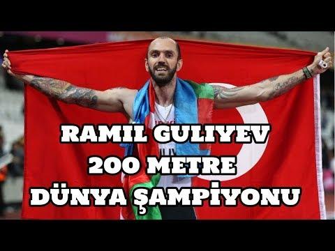 Ramil Guliyev 200 Metre Dünya Şampiyonu Oldu
