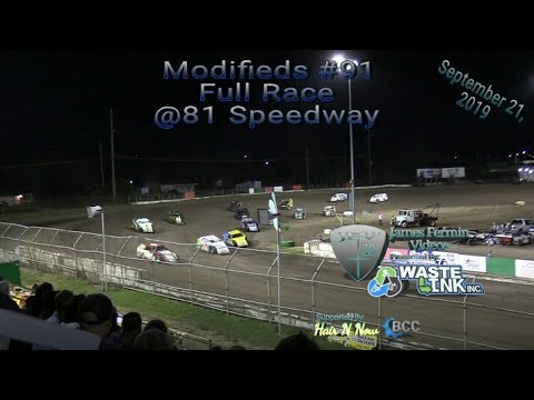Modifieds #91, Full Race, 81 Speedway, 09/21/19