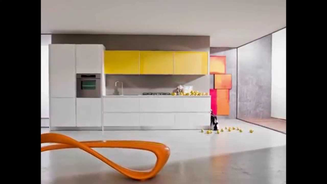 Modern kitchens of the Gentili cucine - YouTube