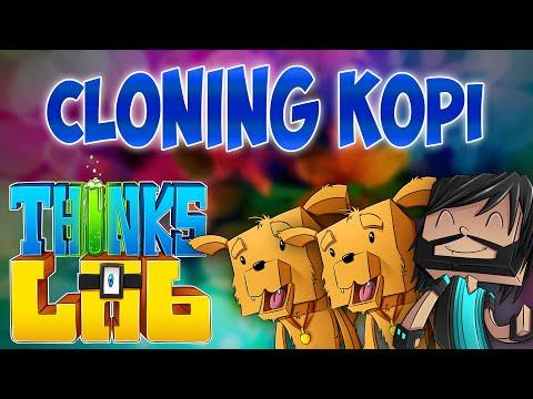 CLONING KOPI!! | Think's Lab Minecraft Mods [Minecraft Roleplay]