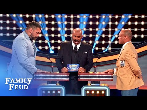Steve Harvey almost tricked Cam Heyward with strip club question on 'Celebrity Family Feud'