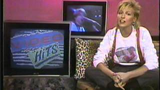 Video Hits on CBC featuring Samantha Taylor - 1985