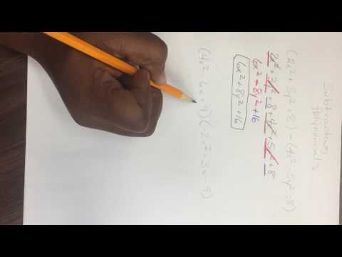 Polynomials (adding, subtracting, multiplying, and dividing)