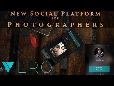 This could be the best Social Platform for Photographers  Vero