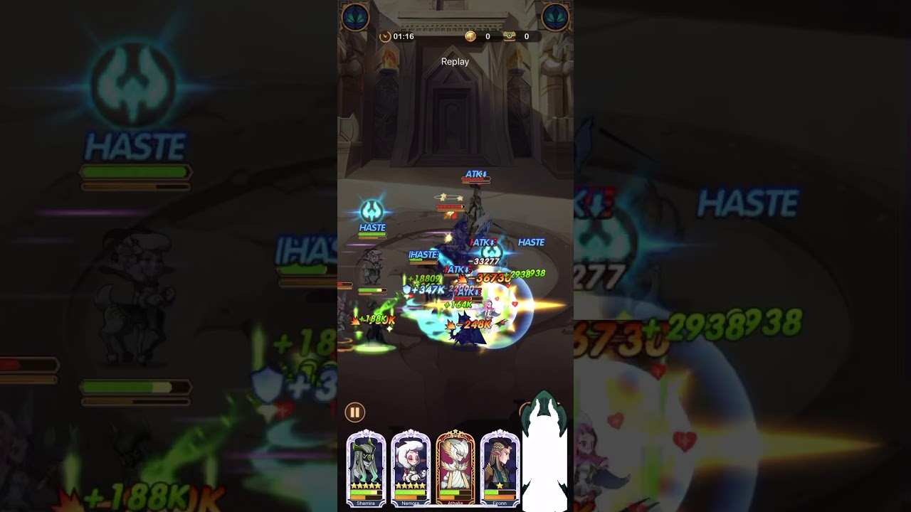 Afk Arena stage 35-56 f2p - YouTube